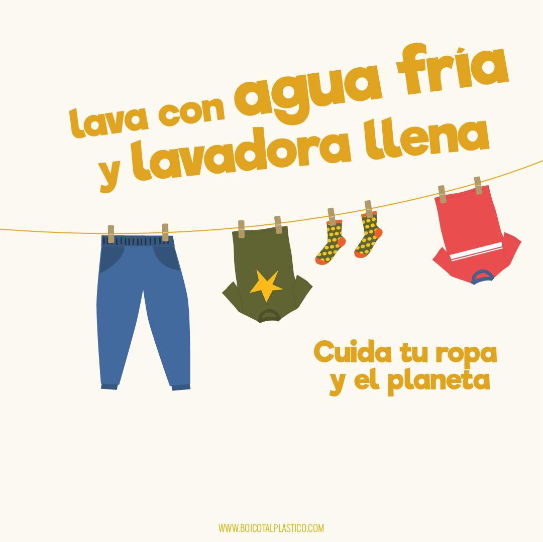 Cuida tu ropa y el planeta