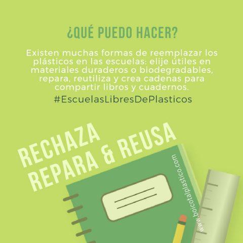 #EscuelasLibresdePlasticos
