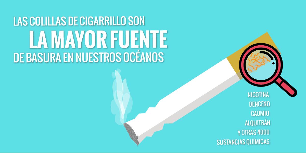Colillas Cigarrillo