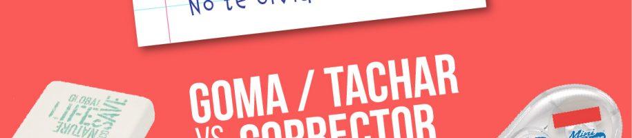 Goma vs Corrector