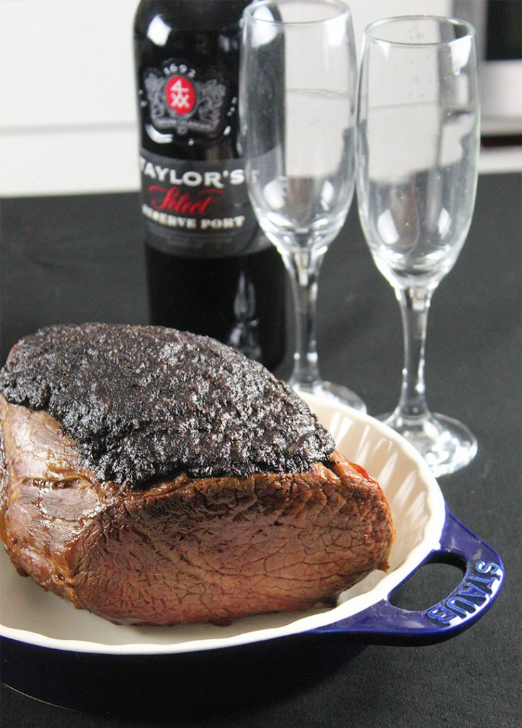 Roast Beef con posos de Cafe